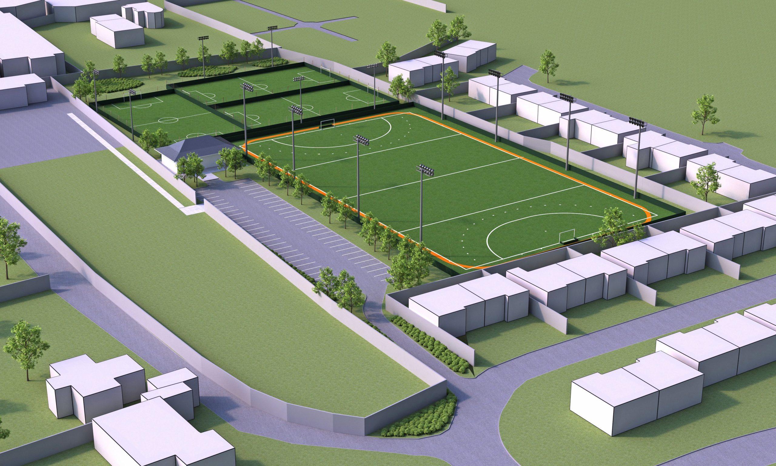St Aloysious Sports Redevelopment
